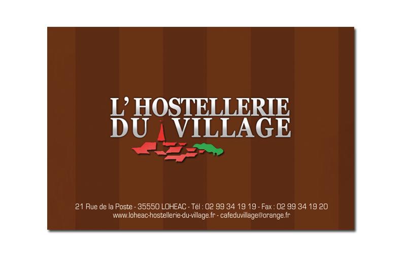 Carte Hostellerie Du Village