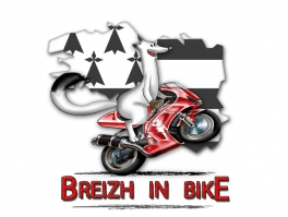 "illustration ""Breizh in Bike"""