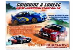 Création panneau 4x3m Conduire à Lohéac
