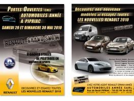 Réalisation flyer Renault