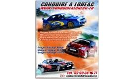 Création graphique flyer Conduire à Lohéac