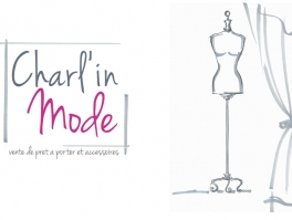 Creation proposition logo Charl'in Mode