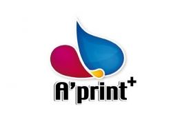 Création logo A'print+