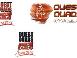 Conception logo Ouest Quad Aventure