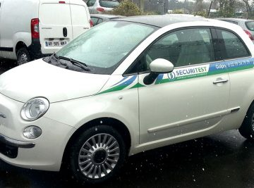 "Fiat 500 ""Securitest"""
