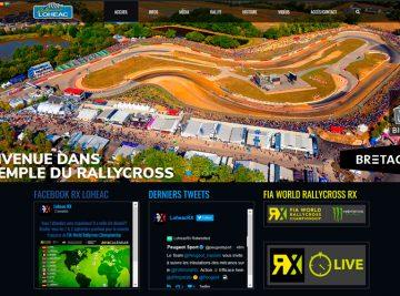 creation site internet rallycross lohéac