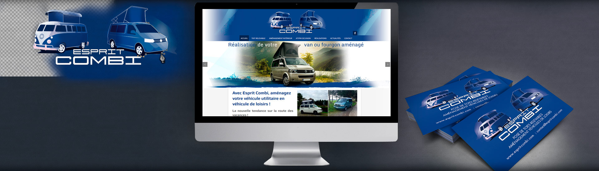 création logotype site web