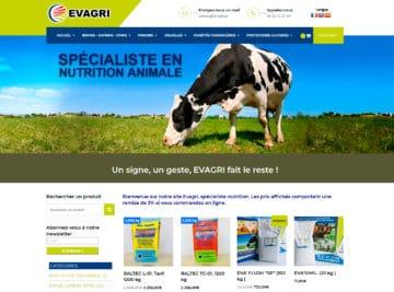 site e-commerce produit agricole