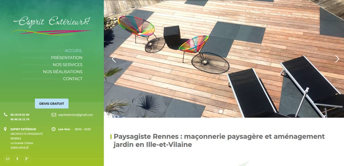 conception site web Rennes