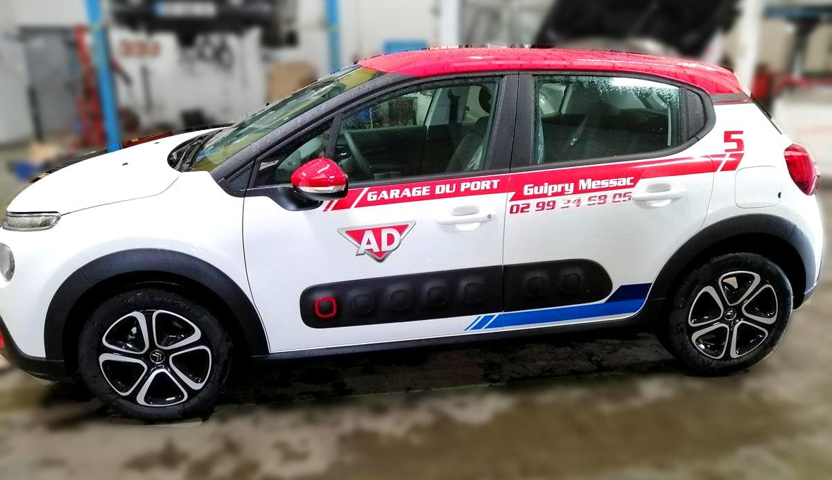 Décoration nouvelle Citroën C3