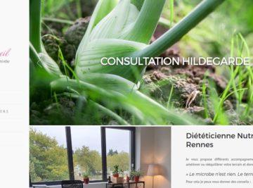 Création site internet Diététicienne Nutritionniste