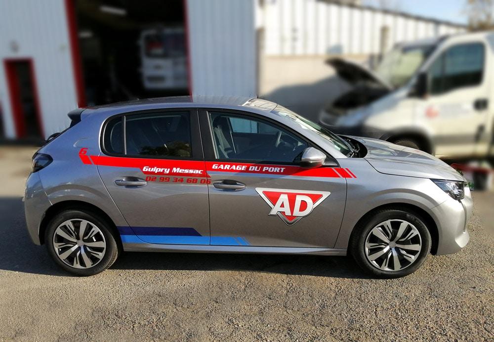 Décoration Nouvelle Peugeot 208