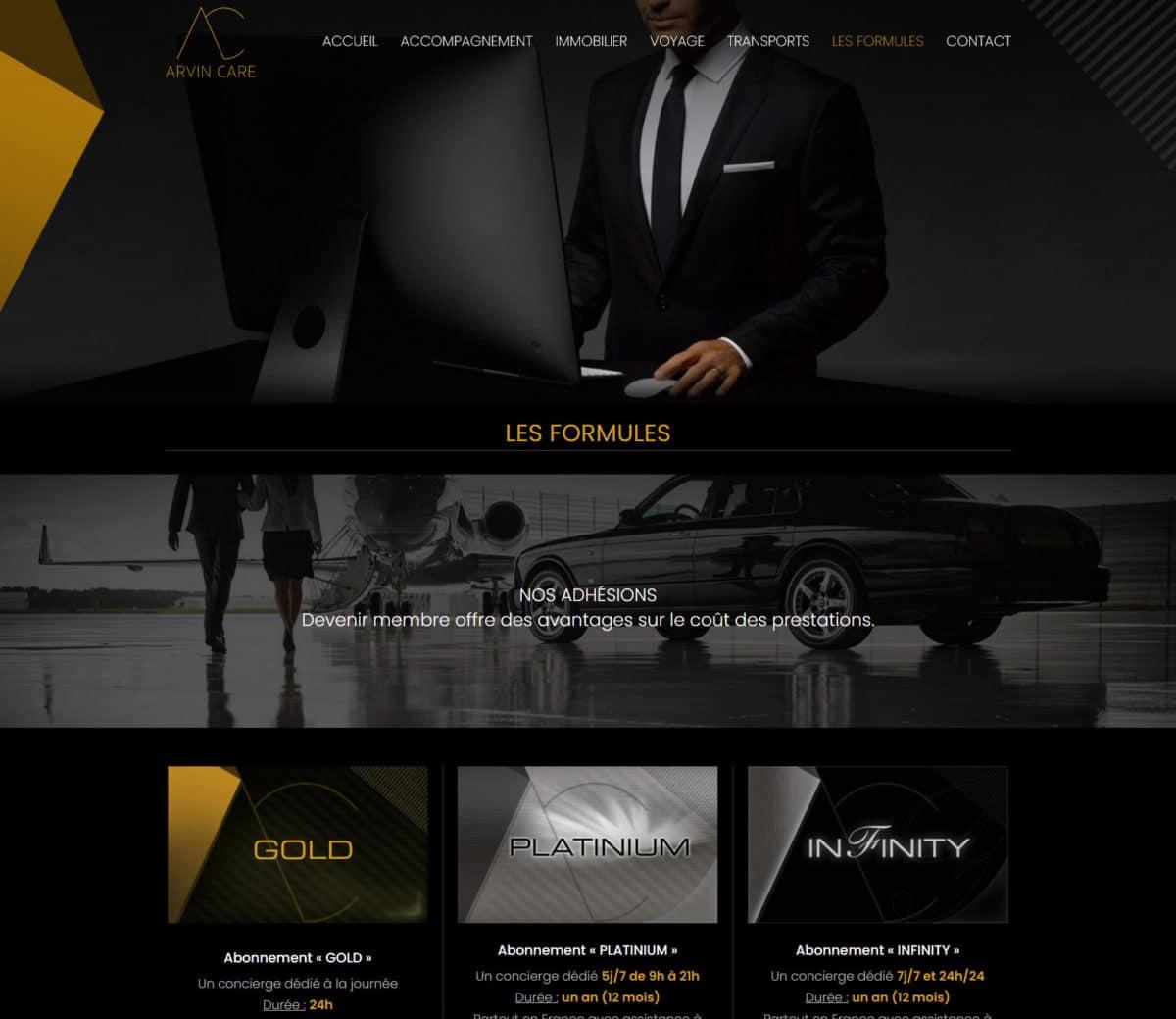 Création site internet conciergerie Rennes