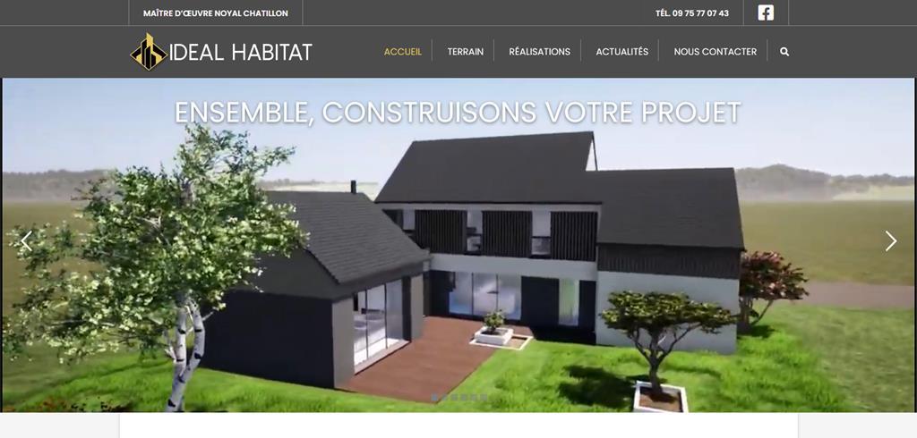 IDÉAL HABITAT Rennes Maitre d'oeuvre Noyal-Châtillon-sur-Seiche (35)
