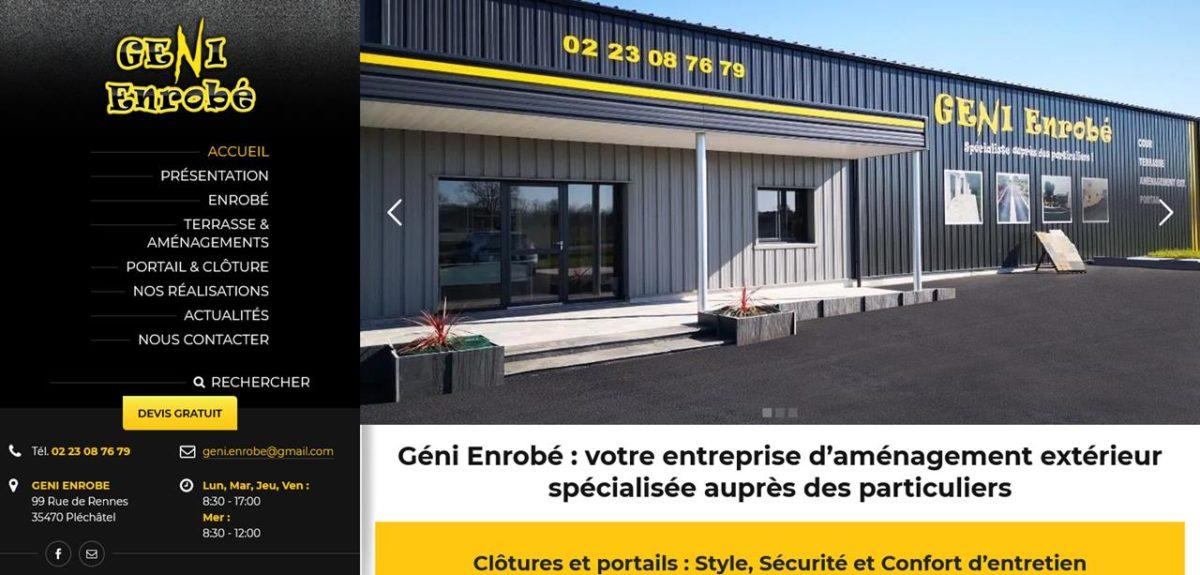 Création site internet Bain de Bretagne