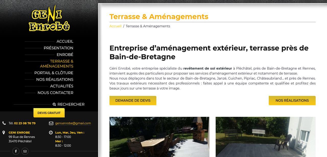 Création site internet Bain de Bretagne1