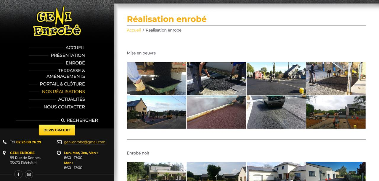 Création site internet Bain de Bretagne2