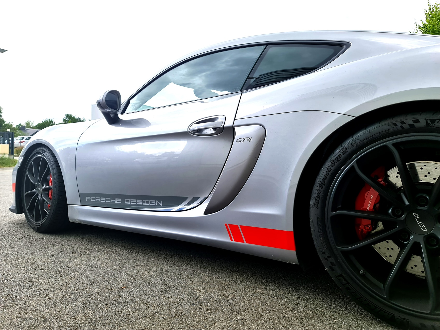 décoration Porsche GT4