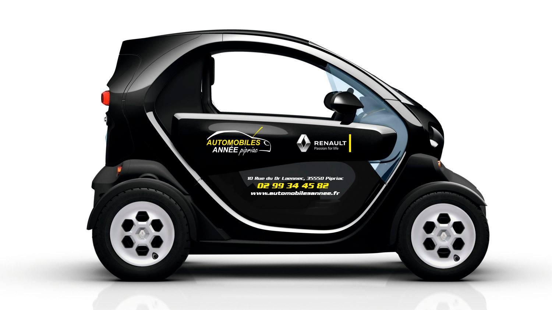 Décoration Renault TWIZY
