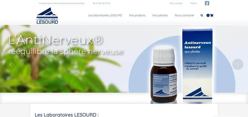 Création site e-commerce Paris Laboratoires