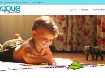 Création site internet magasin de jouets et jeux